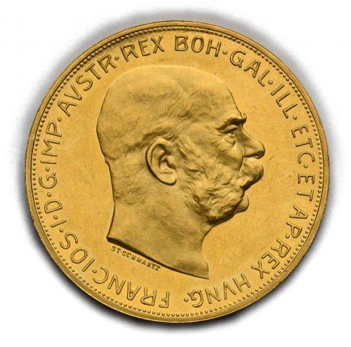 100 Koruna Františka Josefa I. 1913