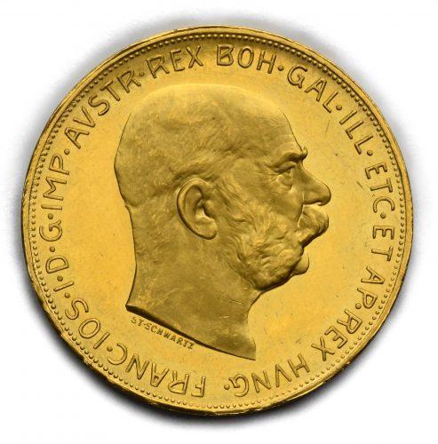 100 Koruna Františka Josefa I. 1915 – Původní ražba