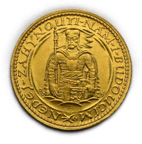 Svatováclavský dukát 1923