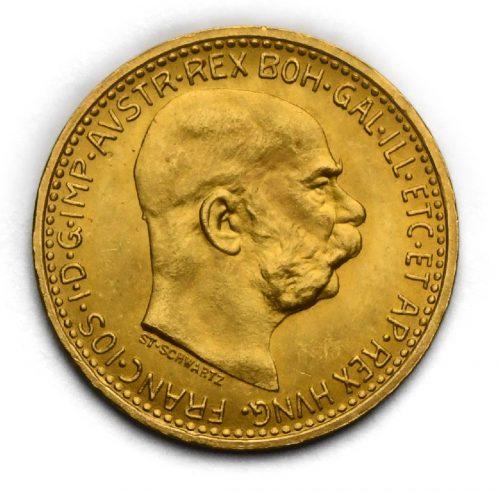10 Koruna Františka Josefa I. 1912