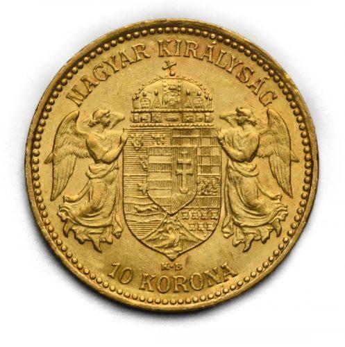 10 Koruna Františka Josefa I. 1896 KB