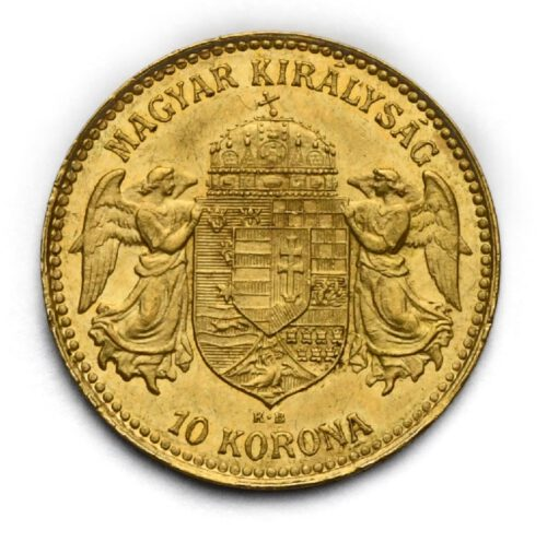 10 Koruna Františka Josefa I. 1913 KB