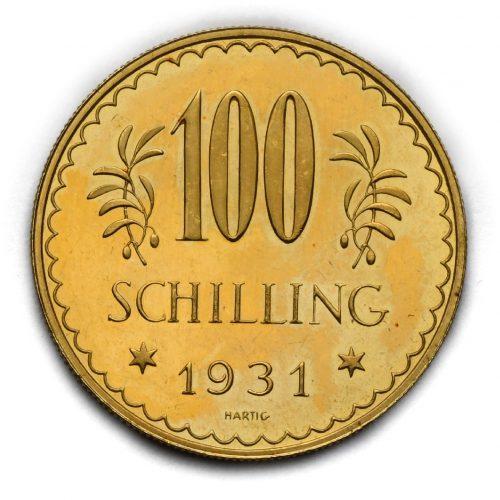 100 Schilling 1931