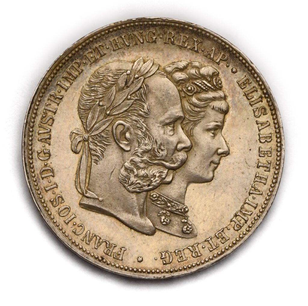 2 Zlatník 1879 – Stříbrná svatba Františka Josefa I. aAlžběty