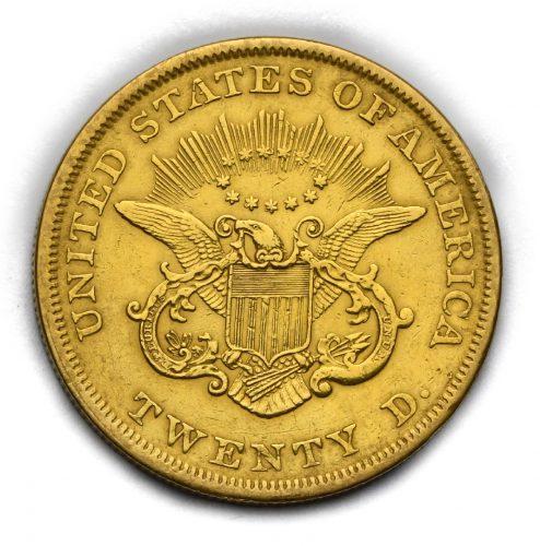 20 Dollar 1852/53 Liberty Head