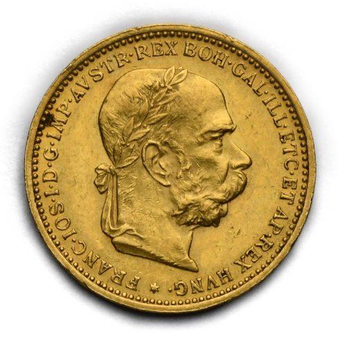20 Koruna Františka Josefa I. 1901