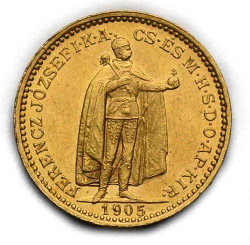 20 Koruna Františka Josefa I. 1905 KB