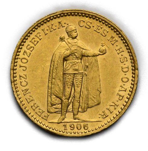 20 Koruna Františka Josefa I. 1906 KB