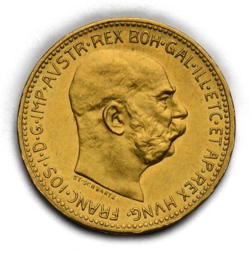 20 Koruna Františka Josefa I. 1910