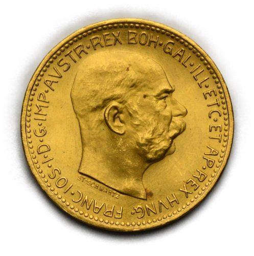 20 Koruna Františka Josefa I. 1915
