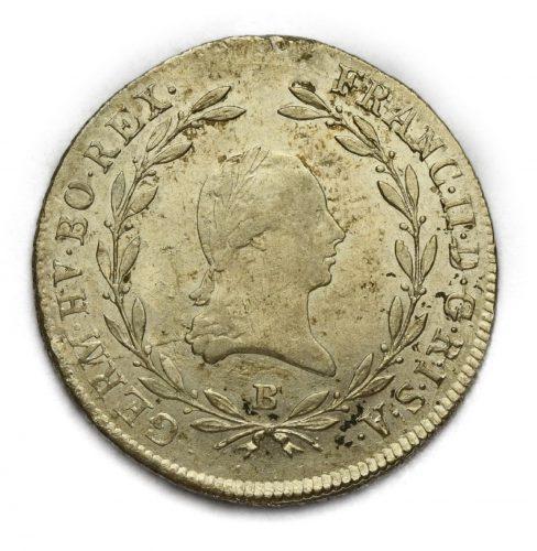 20 Krejcar František II. 1802 B