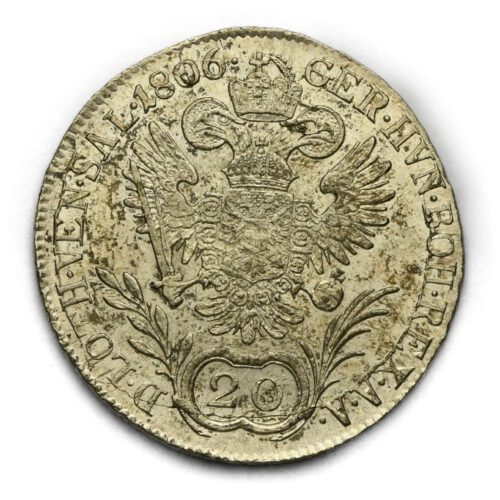 20 Krejcar František II. 1806 B