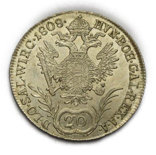 20 Krejcar František II. 1808 A