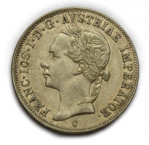 20 Krejcar Františka Josefa I. 1852 C – Hlava doleva