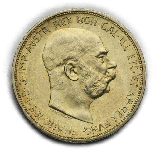5 Koruna Františka Josefa I. 1909 Schwartz