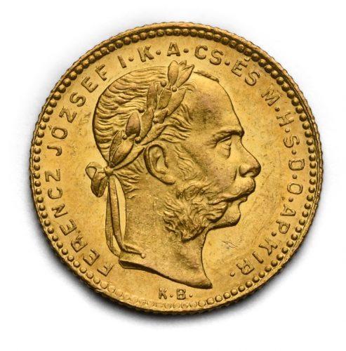 8 Zlatník Františka Josefa I. 1880 KB