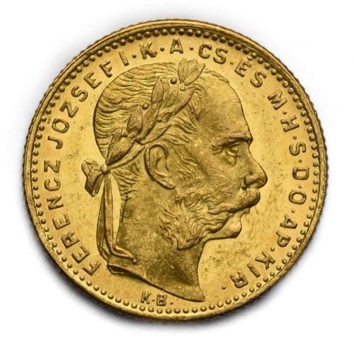 8 Zlatník Františka Josefa I. 1882 KB