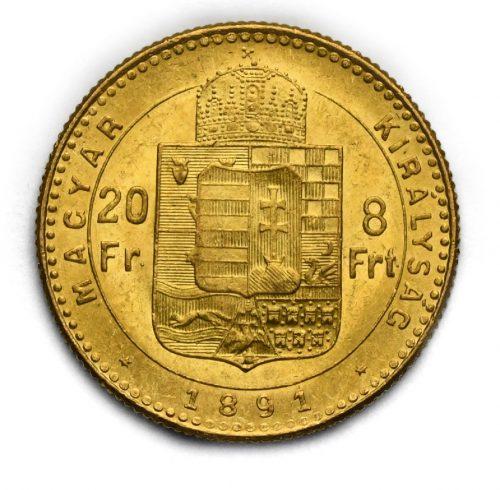 8 Zlatník Františka Josefa I. 1891 KB – Seznakem Fiume