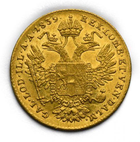 Dukát Ferdinand V. 1839 E