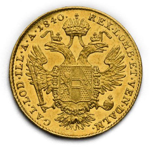 Dukát Ferdinand V. 1840 E
