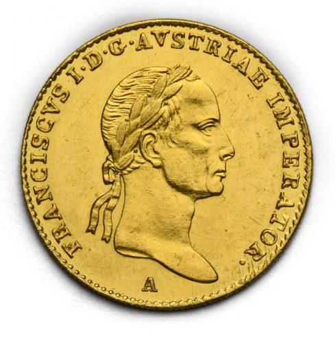 Dukát František II. 1834 A