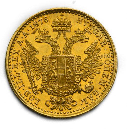 Dukát Františka Josefa I. 1876