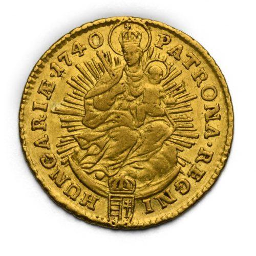 Dukát Karel VI. 1740 KB