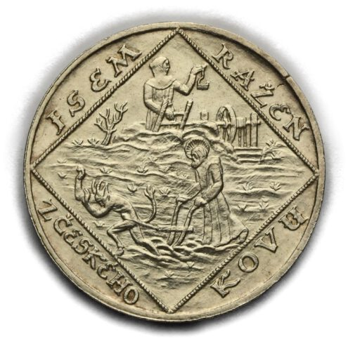 Stříbrná medaile – Jsem Ražen zČeského Kovu 1928
