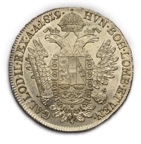 1/2 Tolar František II. 1819 A