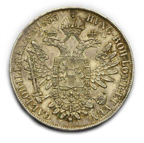 Tolar Františka Josefa I. 1853 B – Vzácný