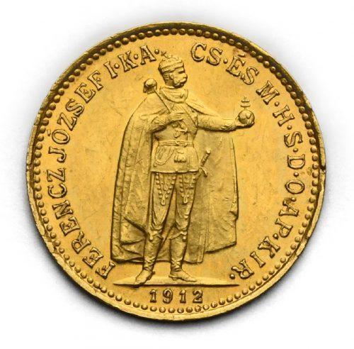10 Koruna Františka Josefa I. 1912 KB