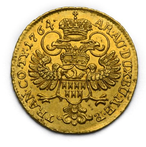2 Dukát Marie Terezie 1764 Karlovský Bělehrad