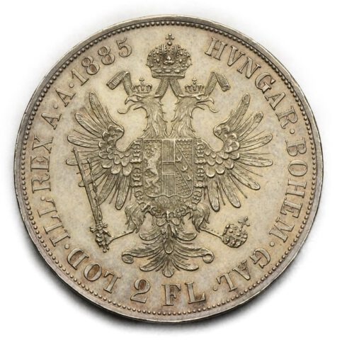 2 Zlatník Františka Josefa I. 1885