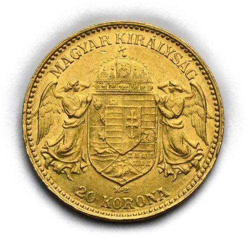 20 Koruna Františka Josefa I. 1911 KB