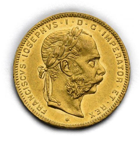8 Zlatník Františka Josefa I. 1874