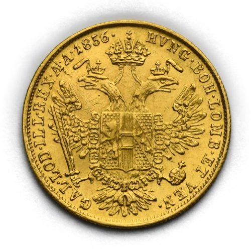 Dukát Františka Josefa I. 1856 V– Benátky