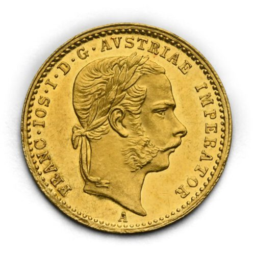 Dukát Františka Josefa I. 1872 A