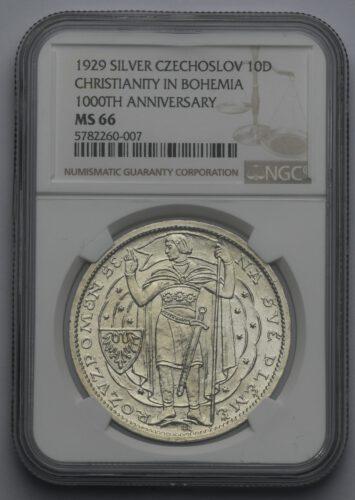 Velká stříbrná medaile – Millenium svatého Václava 1929