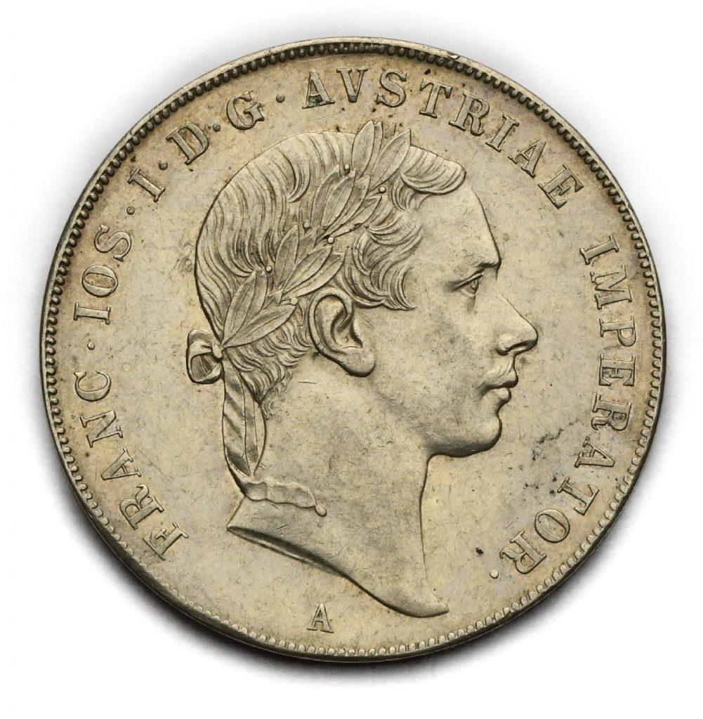 Tolar Františka Josefa I. 1853 A