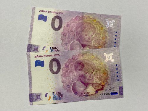 0 Euro Jiřina Bohdalová