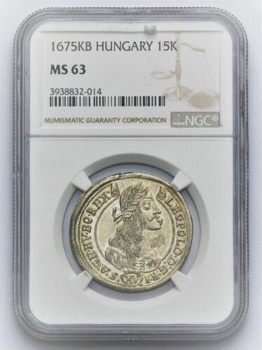 15 Krejcar Leopold I. 1675 KB