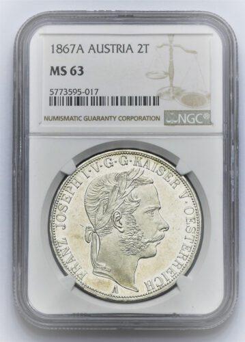 2 Tolar Františka Josefa I. 1867 A