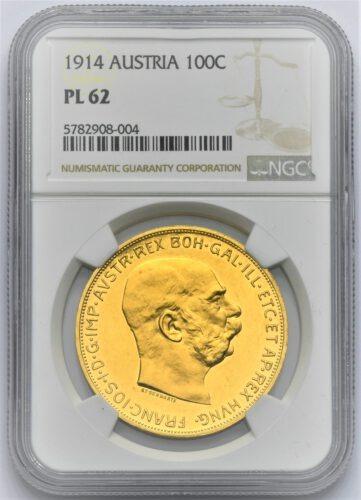 100 Koruna Františka Josefa I. 1914