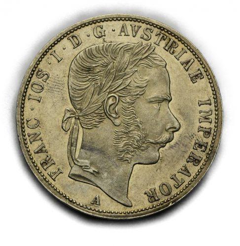 2 Zlatník Františka Josefa I. 1869A