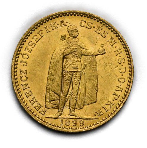 20 Koruna Františka Josefa I. 1899 KB
