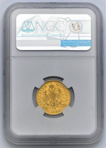 8 Zlatník Františka Josefa I. 1890